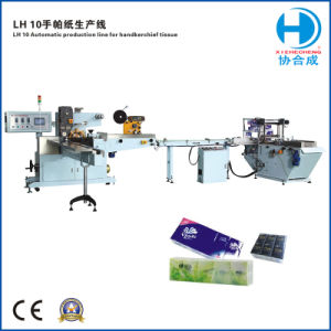 Automatic Handkerchief Tissue Packing Machine Line pictures & photos
