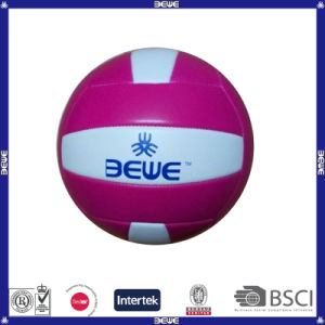 Cheap PU Machined Stitched Volleyball Good Sale pictures & photos