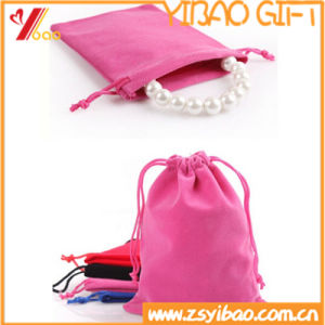 High Quality Velvet Gift Bag for Jewelry (YB-LY-VE-05) pictures & photos