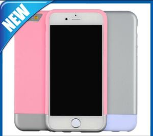 Separated Rubber Coating Protection Case for iPhone6 Plus pictures & photos