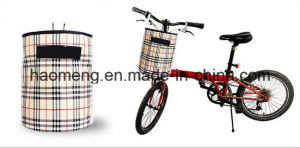 Many Kinds of Bicycle Canvas Basket pictures & photos