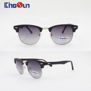Fashion Style Plastic Sunglasses Front with Pin Ks1109 pictures & photos