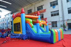 Original Design Colorful Inflatable Castle Bouncer Combo (CHB1209) pictures & photos