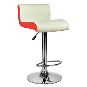 Fashion Height Adjustable Leather Home Kitchen Dining Bar Stool (FS-T6123) pictures & photos
