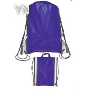 Reflective Nonwoven Drawstring Bag pictures & photos