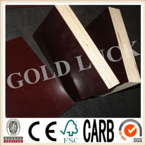 Edge Sealed Brown Film Faced Plywood pictures & photos