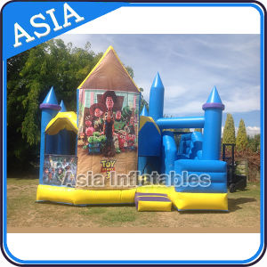 New Inflatable Toy 3 Jumping Castle with Slide pictures & photos