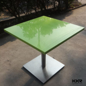 Modern Food Court Furniture Black Table pictures & photos