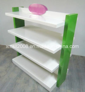 Fashion Wood Display Gondola Shelf Rack Store Display (BDS-015) pictures & photos
