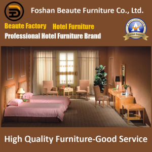 Hotel Furniture/Luxury Double Hotel Bedroom Furniture/Standard Hotel Double Bedroom Suite/Double Hospitality Guest Room Furniture (GLB-0109801) pictures & photos