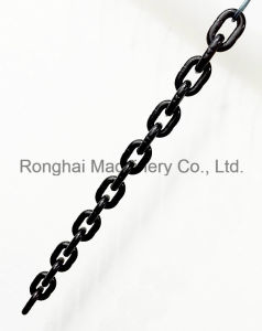 Grade 80 / 5mm*15mm Lifting Chain / 20mn2 / Chinese Standard / Black Painted