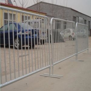 Traffic Safety Control Portable Steel Barrier/32mm Road Steel Barrier pictures & photos