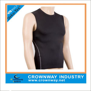 Wholesale Tank Compression Sleeveless Gym Shirt for Men pictures & photos