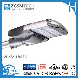 Dlc UL 65W Optical Sensor LED Street Lights for Parking Lot 30W-280W pictures & photos