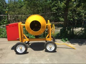 Tilting Drum Diesel Concrete Mixer (TDCM-350 Italy type) pictures & photos