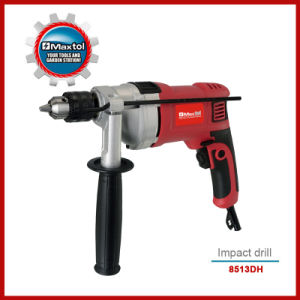 850W 13mm Hammer Drill with Metal Case for Heavy Duty (8513DH)