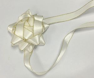 Silver Handmade Gift Packing Ribbon Bow pictures & photos