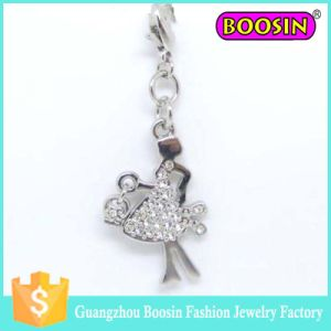 Jewelry Supplier in China Rhinestone Boxing Glove Pendant with Any Colors Available #17710 pictures & photos