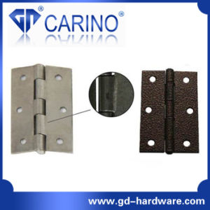 "Flush Hinge 4"" Iron (Flush Hinge With Decorated Head) (HY836) pictures & photos"