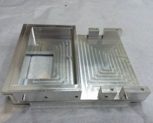 Communication Terminal Housing Made by Aluminum Alloy pictures & photos