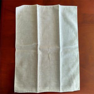 White Sqaure Muslin Baby Towel pictures & photos