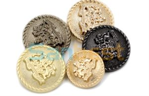 High Quality Colorful Metal Buttons for Denims Garments pictures & photos