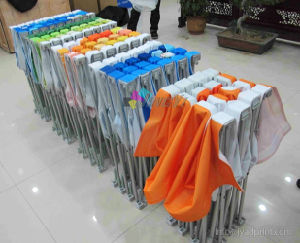Cusotmized Full Color Printing Tension Fabric Pop out Display Banner pictures & photos