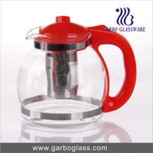 1.6L Glass Tea Pot with Plastic Handle (GB1161) pictures & photos
