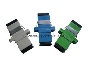Sc/Upc Simplex Blue Fiber Optic Adapter/Coupler pictures & photos