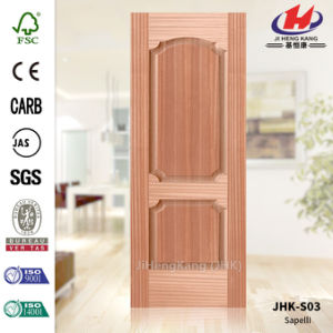 Red Walnut Veneer HDF Door Skin pictures & photos