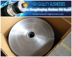 Bonded Aluminum Foil Tape for Cable Shielding Wrapping pictures & photos