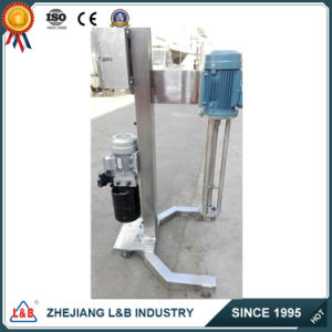 Stainless Steel Moveable High Shear Pneumatic Paint Mixer pictures & photos