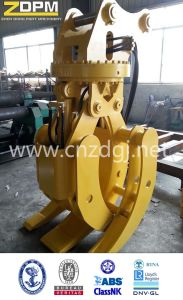 Hydraulic Orange Peel Grapple for Excavator pictures & photos