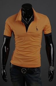 Wholesale Man Golf 100% Cotton Polo T Shirt for Men (A305) pictures & photos