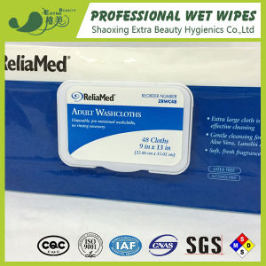 Disposable Wipes Adult Washcloths 48PCS pictures & photos