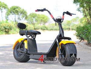 Economic Easy Parts Ebike Harley 2 Seats Electric Scooter Es8004 pictures & photos