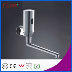 Fyeer Long Spout Wall Mounted Automatic Shut off Sensor Faucet pictures & photos