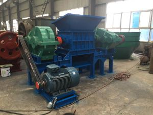 Tire Shredder, Double Shaft Shredder Machine, Metal Shredder pictures & photos