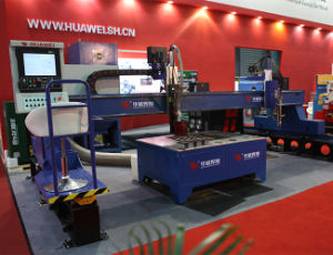 Hnc-4000 High Quality Huawei Plasma Large Gantry Type Cutting Machine pictures & photos