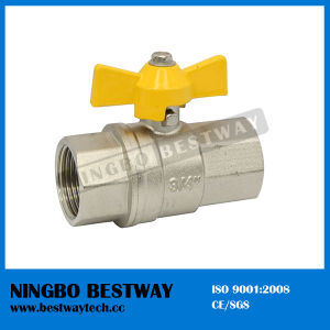 Brass Gas Stove Valve with Butterfly Handle (BW-B137) pictures & photos