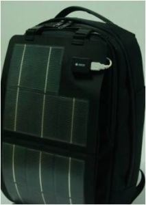 Outdoor Laptop Solar Backpack with Solar Panel