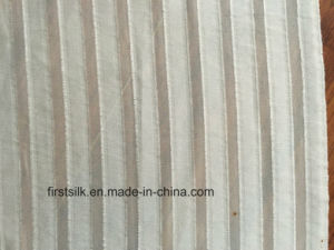 Silk Clip Stripe Fabric pictures & photos