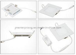Super Slim Square 6W LED Recessed Ceiling Panel Light 170X170 pictures & photos