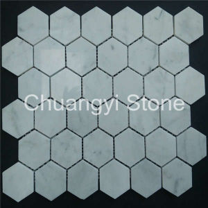 China Factory Produce Marble Stone Mosaic Tile for Home Decoration pictures & photos