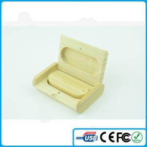 China Custom Logo USB Factory Promotion Wood/Timber USB