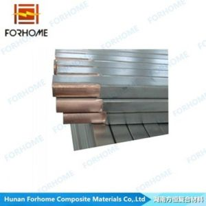 Explosive Welding Stainless Steel Copper Clad Rod for Metallurgical and Mining Industry pictures & photos