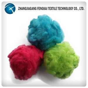 2017hot Colored Solid Polyester Staple Fiber pictures & photos