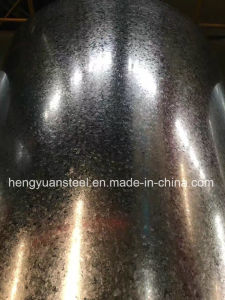0.49/1000mm Z90 Zero Spangle Hot Galvanized Steel Coil Gi pictures & photos