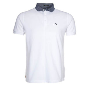 Trade Assurance Custom Mens Polo Shirt with Oxford Collar (PS260W) pictures & photos