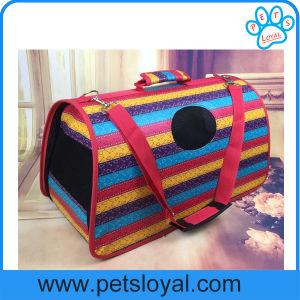 Manufacturer Puppy Cat Travel Portable Bag Leather Pet Carrier pictures & photos